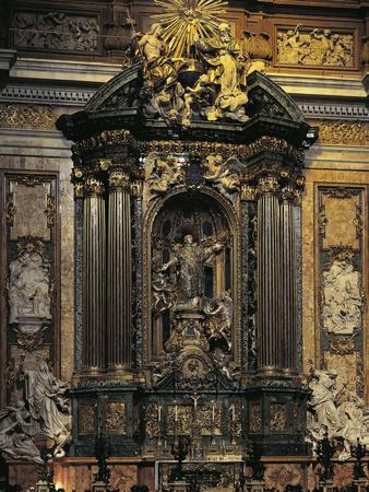 Altar Dedicated to St Ignatius of Loyola
