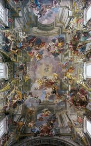 Glory of St. Ignatius by Andrea Pozzo