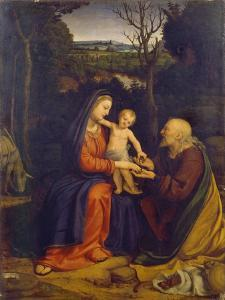 The Rest on the Flight into Egypt by Andrea Solari