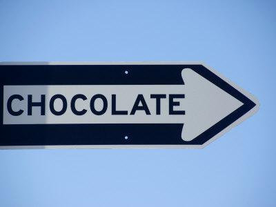 Street Sign That Says Chocolate in San Francisco, California