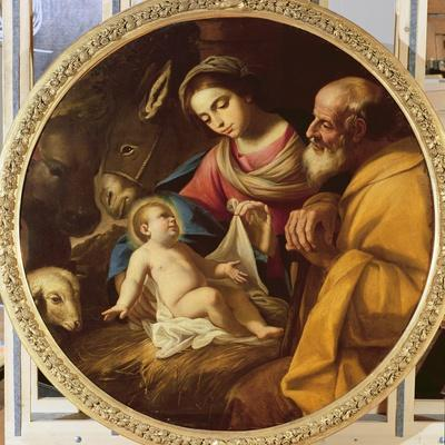 Holy Family (Tondo)