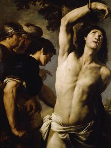 Martyrdom of St Sebastian by Andrea Vaccaro