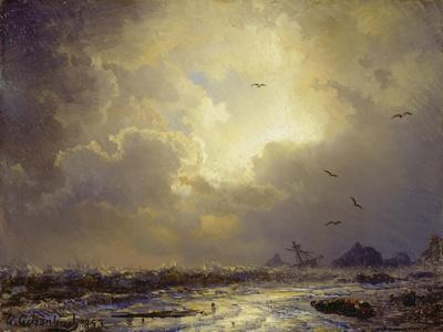 After the Storm. Nach dem Sturm. 1853