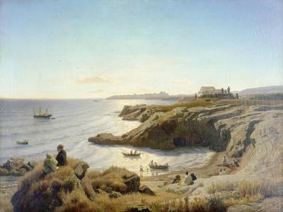 Küste bei Syrakus. 1861