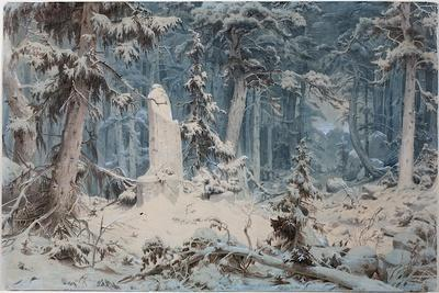 Snowy Forest, 1835