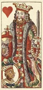 King of Hearts (Bauern Hochzeit Deck) by Andreas Benedictus Gobl