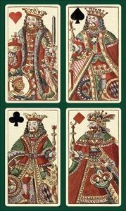 Kings (Bauern Hochzeit Deck) by Andreas Benedictus Gobl