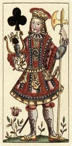 Knave of Clubs (Bauern Hochzeit Deck) by Andreas Benedictus Gobl