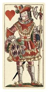 Knave of Hearts (Bauern Hochzeit Deck) by Andreas Benedictus Gobl