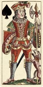 Knave of Spades (Bauern Hochzeit Deck) by Andreas Benedictus Gobl