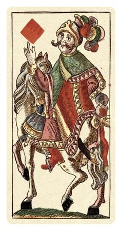 Knight of Diamonds (Bauern Hochzeit Deck)