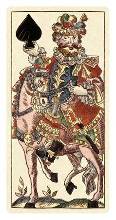 Knight of Spades (Bauern Hochzeit Deck)