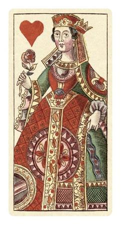 Queen of Hearts (Bauern Hochzeit Deck)