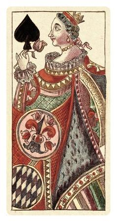 Queen of Spades (Bauern Hochzeit Deck)