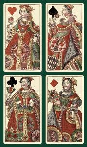 Queens (Bauern Hochzeit Deck) by Andreas Benedictus Gobl