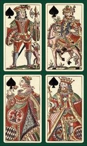 Spades (Bauern Hochzeit Deck) by Andreas Benedictus Gobl