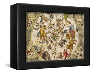 Atlas Coelestis Seu Harmonia Macrocosmica, 18th Century by Andreas Cellarius