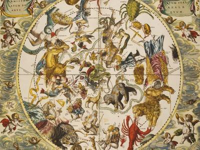 Atlas Coelestis Seu Harmonia Macrocosmica, 18th Century