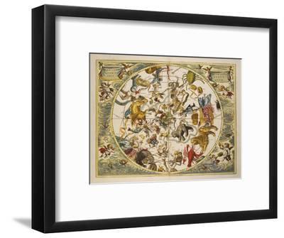 Atlas Coelestis Seu Harmonia Macrocosmica. Engraved Celestial Atlas By Andreas Cellarius