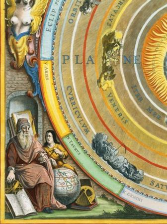 Detail of The Planisphere of Ptolemy Plate from The Celestial Atlas
