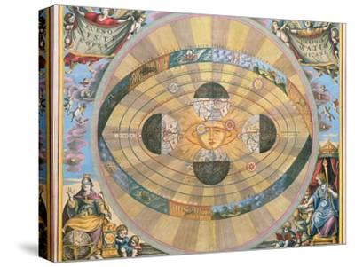 Scenographia: Systematis Copernicani Astrological Chart (C.1543) Devised by Nicolaus Copernicus…