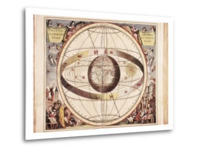 Scenographia Systematis Mundani Ptolemaici, Representation of the Ptolemaic Universe