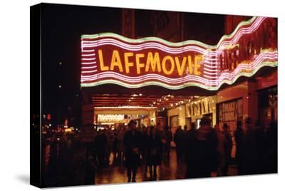 1945: Laff Movie Theater at 236 West 42nd Street Manhattan, New York, NY