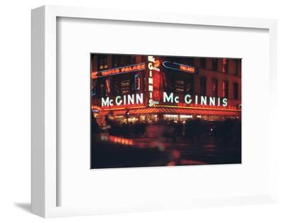 1945: Mcginnis Tango Palace Above the Roast Beef King Deli, 48th and Broadway, New York, NY