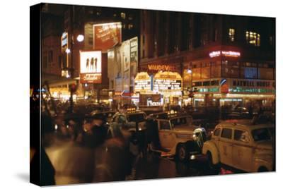 1945: Vaudeville Loew's State Theatre at 1540 Broadway at Night, New York, Ny