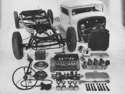 Dismantled Stock Car