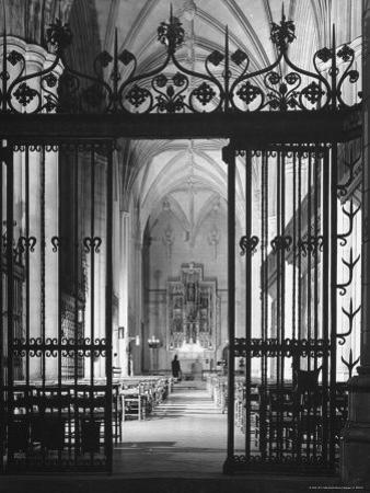 Interior View of the National Cathedral by Andreas Feininger