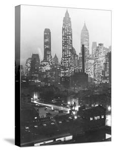 Manhattan Skyline by Andreas Feininger