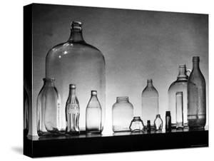 Manufacture and Examples of Uses of Various Kinds of Glass at Corning Glass Co by Andreas Feininger