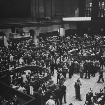 The New York Stock Exchange by Andreas Feininger