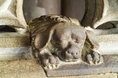 Kanzel, 1485 Von Hans Hammer, Kleiner Hund Am Eingang Als Mahnung, Stra?Burg, Stra?Burger M