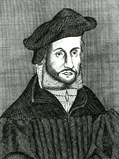 Andreas Osiander, 16th Century German Lutheran Theologian, 17th Century--Giclee Print