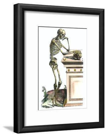 Vesalius: Skeleton, 1543