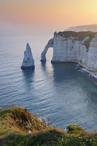 France, Normandy, C™te D'Alb‰tre, Etretat, Sunrise by Andreas Vitting