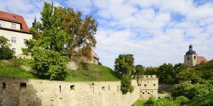 Germany, Saxony-Anhalt, Burgenlandkreis, Querfurt, Castle Querfurt by Andreas Vitting