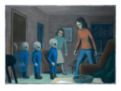 Andreasson Abduction-Michael Buhler-Giclee Print