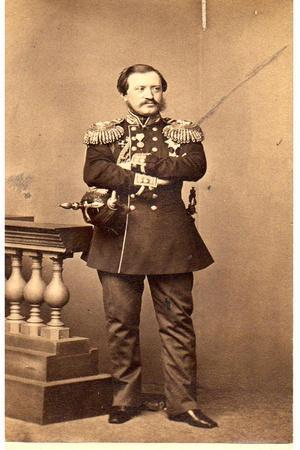 Portrait of Count Pavel Nikolayevich Ignatiev (1797-187), 1860S