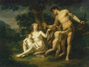 Adam and Eve with Children under a Tree, 1803 by Andrei Ivanovich Ivanov