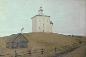 A Church, 1903 by Andrei Petrovich Ryabushkin