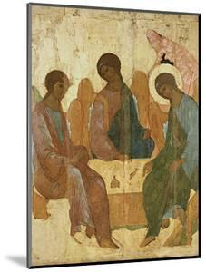 Holy Trinity by Andrei Rublev