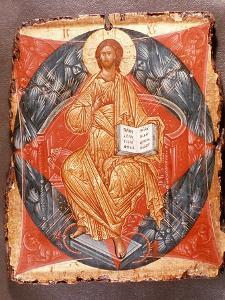 Icon (Tempera on Panel) by Andrei Rublev