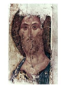 Russian Icons: The Saviour by Andrei Rublev
