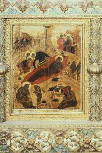 The Birth of Christ, 1405 by Andrei Rublev