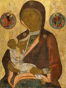 The Nursing Virgin by Andrei Rublev