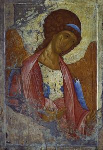 Archangel Michael by Andrei Rubljew