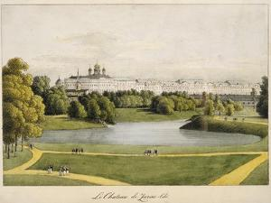 The Catherine Palace in Tsarskoye Selo, 1821-1822 by Andrei Yefimovich Martynov
